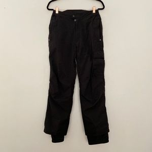 Obermeyer Mens Small Straight Leg Snow Pants Black